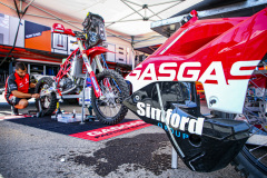 11 Sanders Daniel (aus), GasGas Factory Racing, GasGas 450 Rally Factory Replica during the Silk Way Rally 2021's Administrative and Technical scrutineering in Omsk, Russia from June 30 to July 1, 2021 - Photo Julien Delfosse / DPPI