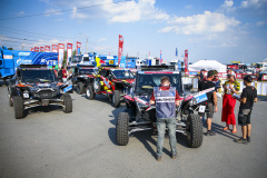 228 Gaspari Enrico (ita), Salvatore Massimo (ita), Xtreme Plus, Polaris RZR 900 EB4 during the Silk Way Rally 2021's Administrative and Technical scrutineering in Omsk, Russia from June 30 to July 1, 2021 - Photo Julien Delfosse / DPPI