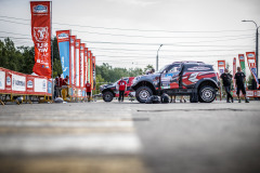 during the Silk Way Rally 2021's Administrative and Technical scrutineering in Omsk, Russia from June 30 to July 1, 2021 - Photo Frédéric Le Floc'h / DPPI