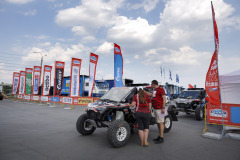 Ambiance,  during the Silk Way Rally 2021's Administrative and Technical scrutineering in Omsk, Russia from June 30 to July 1, 2021 - Photo Frédéric Le Floc'h / DPPI