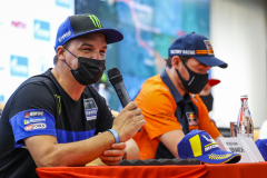Branch Ross (bwa), Monster Yamaha Rally Official, Yamaha 450 WRF, portrait during the Silk Way Rally 2021's Administrative and Technical scrutineering in Omsk, Russia from June 30 to July 1, 2021 - Photo Julien Delfosse / DPPI