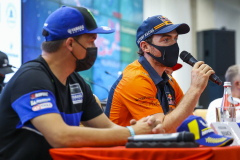 Walkner Matthias (aut), Red Bull KTM Factory Racing, KTM 450 Rally Factory Replica, portrait during the Silk Way Rally 2021's Administrative and Technical scrutineering in Omsk, Russia from June 30 to July 1, 2021 - Photo Julien Delfosse / DPPI