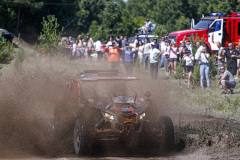409 Enkhbat Orgil (mng), Buyantsogt Temen (mng), Team Mongolia Number One, BRP Can-Am Maverick, action during the Silk Way Rally 2021's 2nd stage between Novosibirsk and Gorno-Altaysk, in Russia on July 03, 2021 - Photo Frédéric Le Floc'h / DPPI