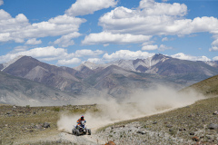 102 Maksimov Aleksandr (rus), Yamaha YFM700R Raptor SE, action during the Silk Way Rally 2021's 3rd stage between Gorno-Altaysk, in Russia, and Ölgii, in Mongolia on July 04, 2021 - Photo Frédéric Le Floc'h / DPPI