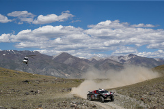 202 Chicerit Guerlain (fra), Winocq Alexandre (fra), Serradori, Buggy Century CR6, action during the Silk Way Rally 2021's 3rd stage between Gorno-Altaysk, in Russia, and Ölgii, in Mongolia on July 04, 2021 - Photo Frédéric Le Floc'h / DPPI