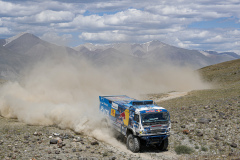 507 Karginov Andrey (rus), Mokeev Andrey (rus), Malkov Sergei (rus), Kamaz-Master Team, Kamaz 43509, action during the Silk Way Rally 2021's 3rd stage between Gorno-Altaysk, in Russia, and Ölgii, in Mongolia on July 04, 2021 - Photo Frédéric Le Floc'h / DPPI