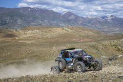 407 Margaillan Matthieu (fra), Roux Decima Axelle (fra), Margaillan, BRP Can-Am Maverick, action during the Silk Way Rally 2021's 3rd stage between Gorno-Altaysk, in Russia, and Ölgii, in Mongolia on July 04, 2021 - Photo Julien Delfosse / DPPI