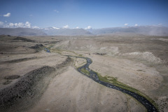 landscape, paysage,  during the Silk Way Rally 2021's 4rd stage between Gorno-Altaysk, in Russia, and Ölgii, in Mongolia on July 05, 2021 - Photo Frédéric Le Floc'h / DPPI
