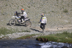 24 Winkler Andrea (ita), KTM 450 Rally, 23 Winkler Aldo (ita), KTM 450 Rally, action during the Silk Way Rally 2021's 3rd stage around Gorno-Altaysk, in Russia, on July 05, 2021 - Photo Julien Delfosse / DPPI