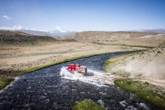 506 Vishneuski Aliaksei (blr), Novikau Maksim (blr), Sachuk Siarhei (blr), Maz-Sportauto, Maz 6440RR, action  during the Silk Way Rally 2021's 4rd stage between Gorno-Altaysk, in Russia, and Ölgii, in Mongolia on July 05, 2021 - Photo Frédéric Le Floc'h / DPPI