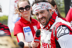 Caimi Franco (arg), Hero Motorsport Team Rally, Hero Rally 450 Beta, portrait during the Silk Way Rally 2021's 5th stage around Gorno-Altaysk, in Russia on July 06, 2021 - Photo Frédéric Le Floc'h / DPPI