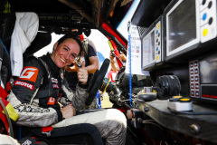 Zhadanova Ekaterina (rus), BRP Can-Am Maverick XRS, portrait during the Silk Way Rally 2021's 5th stage around Gorno-Altaysk, in Russia on July 06, 2021 - Photo Frédéric Le Floc'h / DPPI