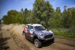 203 Krotov Denis (rus), Zhiltsov Konstantin (rus), MSK Rally Team, Mini John Cooper Works Rally, action during the Silk Way Rally 2021's 5th stage around Gorno-Altaysk, in Russia on July 06, 2021 - Photo Julien Delfosse / DPPI