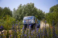 504 Nikolaev Eduard (rus), Iakovlev Evgenii (rus), Romanov Iskander (rus), Kamaz-Master Team, Kamaz 43509, action during the Silk Way Rally 2021's 5th stage around Gorno-Altaysk, in Russia on July 06, 2021 - Photo Julien Delfosse / DPPI