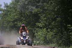 102 Maksimov Aleksandr (rus), Yamaha YFM700R Raptor SE, action during the Silk Way Rally 2021's 5th stage around Gorno-Altaysk, in Russia on July 06, 2021 - Photo Julien Delfosse / DPPI