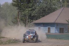 409 Enkhbat Orgil (mng), Buyantsogt Temen (mng), Team Mongolia Number One, BRP Can-Am Maverick, action during the Silk Way Rally 2021's 5th stage around Gorno-Altaysk, in Russia on July 06, 2021 - Photo Julien Delfosse / DPPI