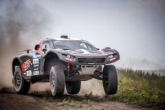 202 Chicerit Guerlain (fra), Winocq Alexandre (fra), Serradori, Buggy Century CR6, action  during the Silk Way Rally 2021's Administrative and Technical scrutineering in Omsk, Russia from June 30 to July 1, 2021 - Photo Frédéric Le Floc'h / DPPI